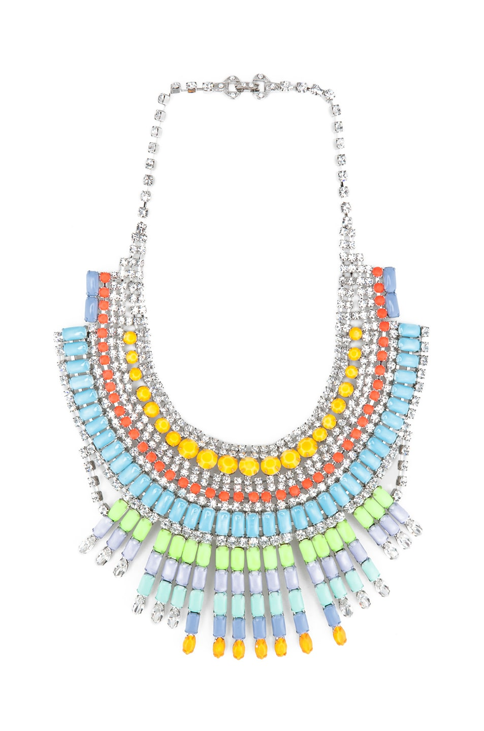 Image 1 of Tom Binns Soft Power Necklace in Pastel