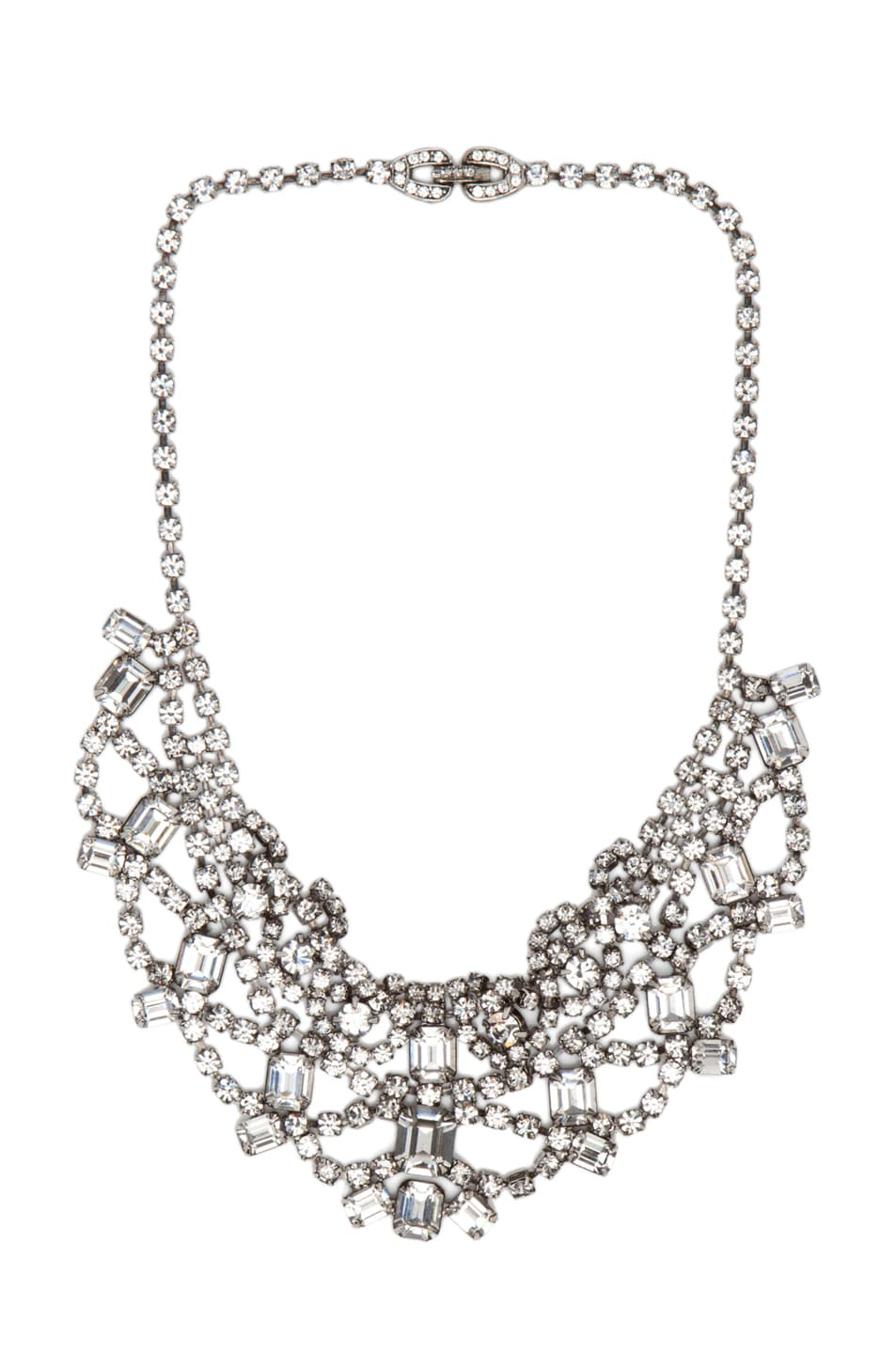 Image 1 of Tom Binns Crystal Necklace in White