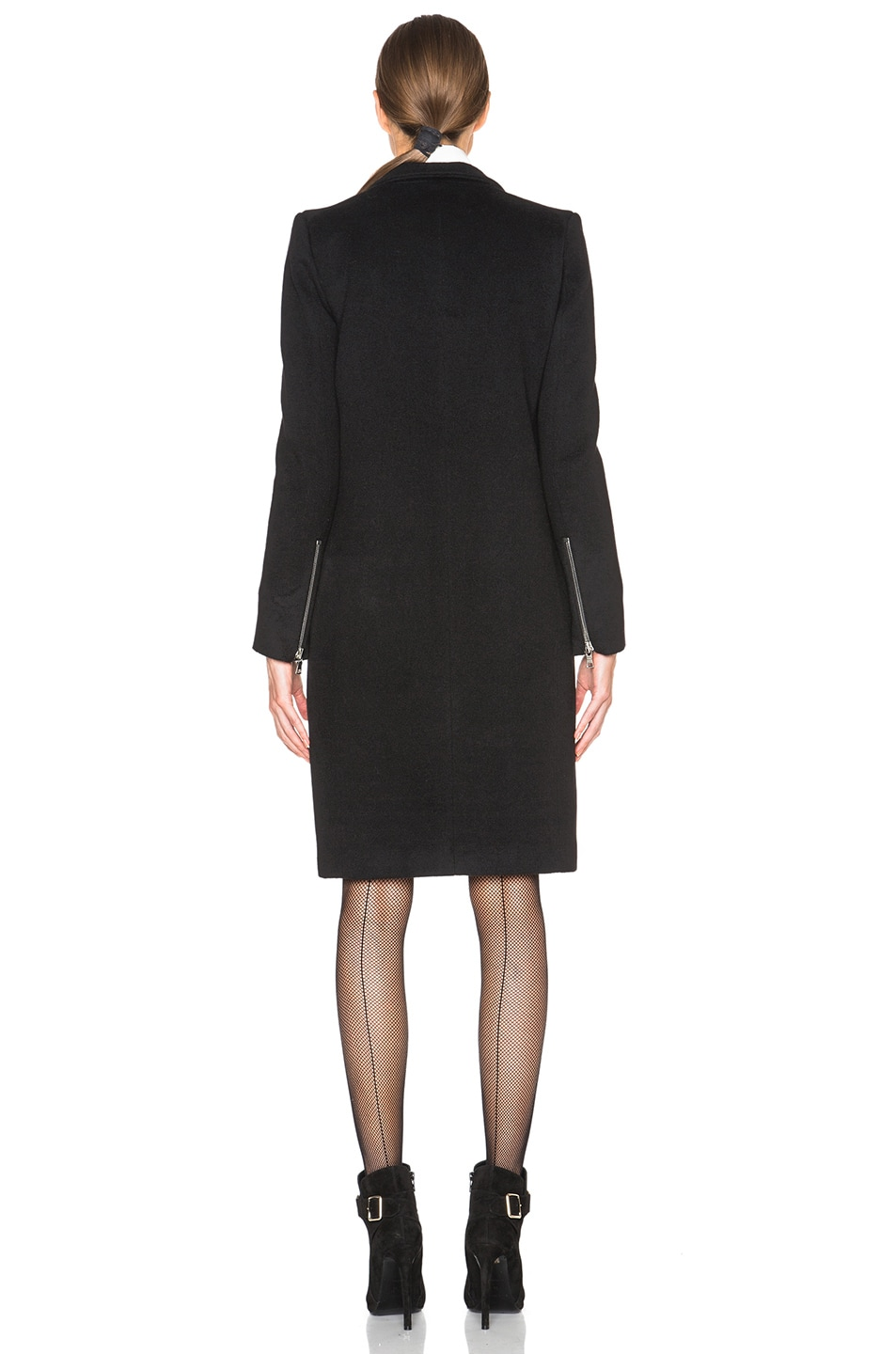 Image 4 of ThePerfext Manhattan Coat in Black