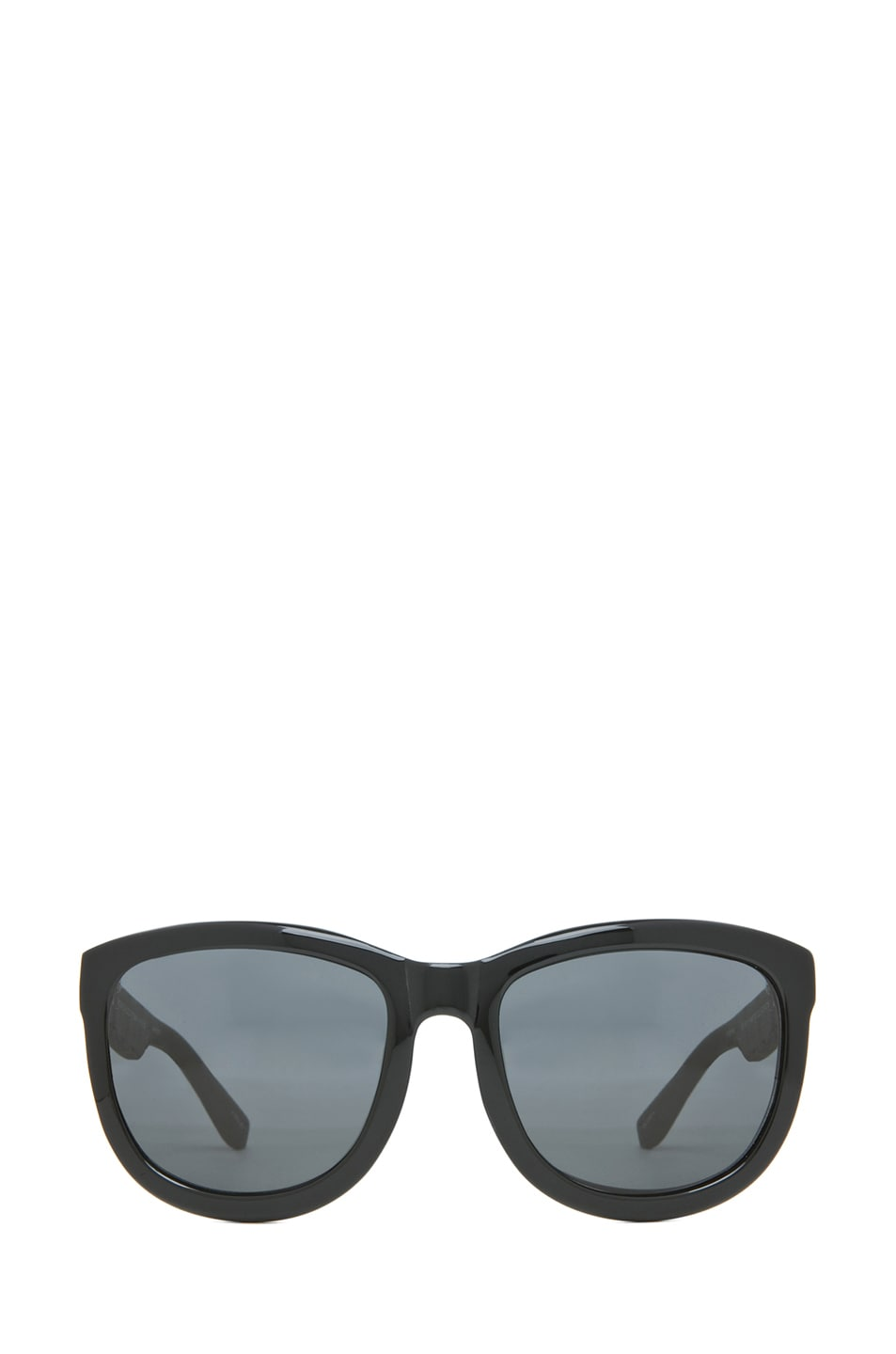 Image 1 of The Row Temple Design D-Frame Sunglasses in Black