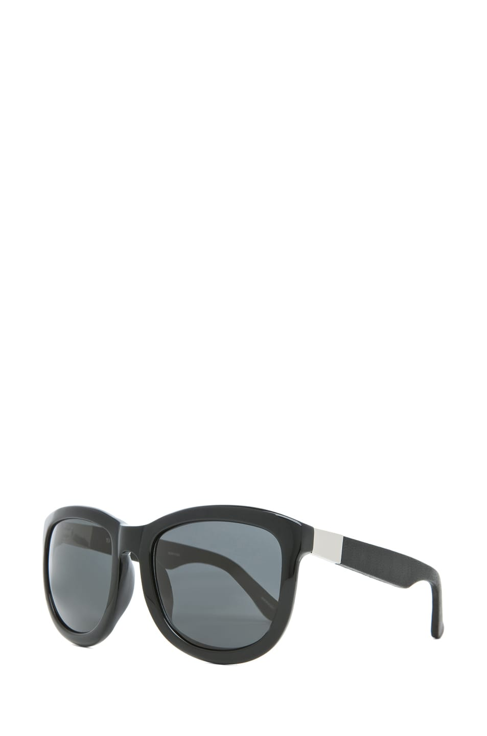 Image 2 of The Row Temple Design D-Frame Sunglasses in Black