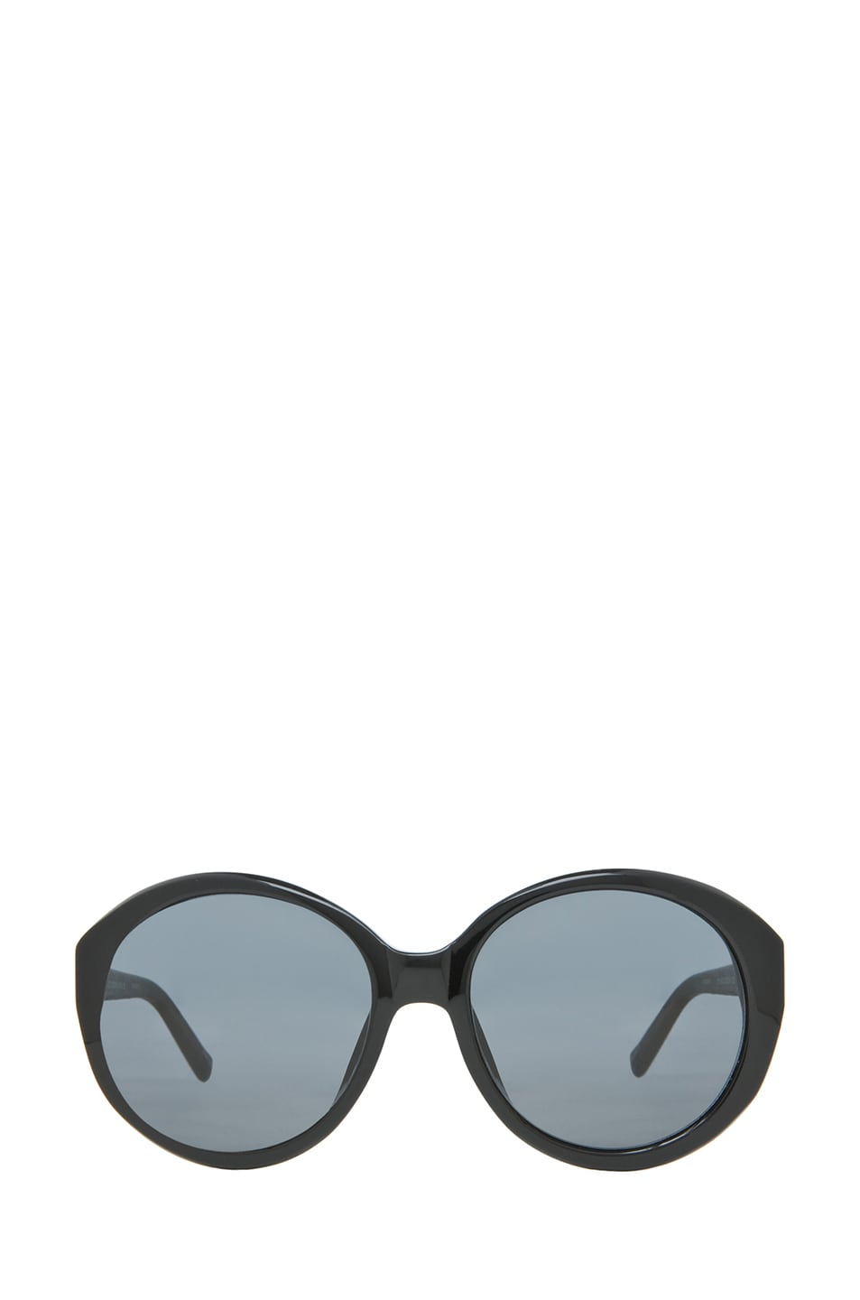 Image 1 of The Row Oversized Round Sunglasses in Black