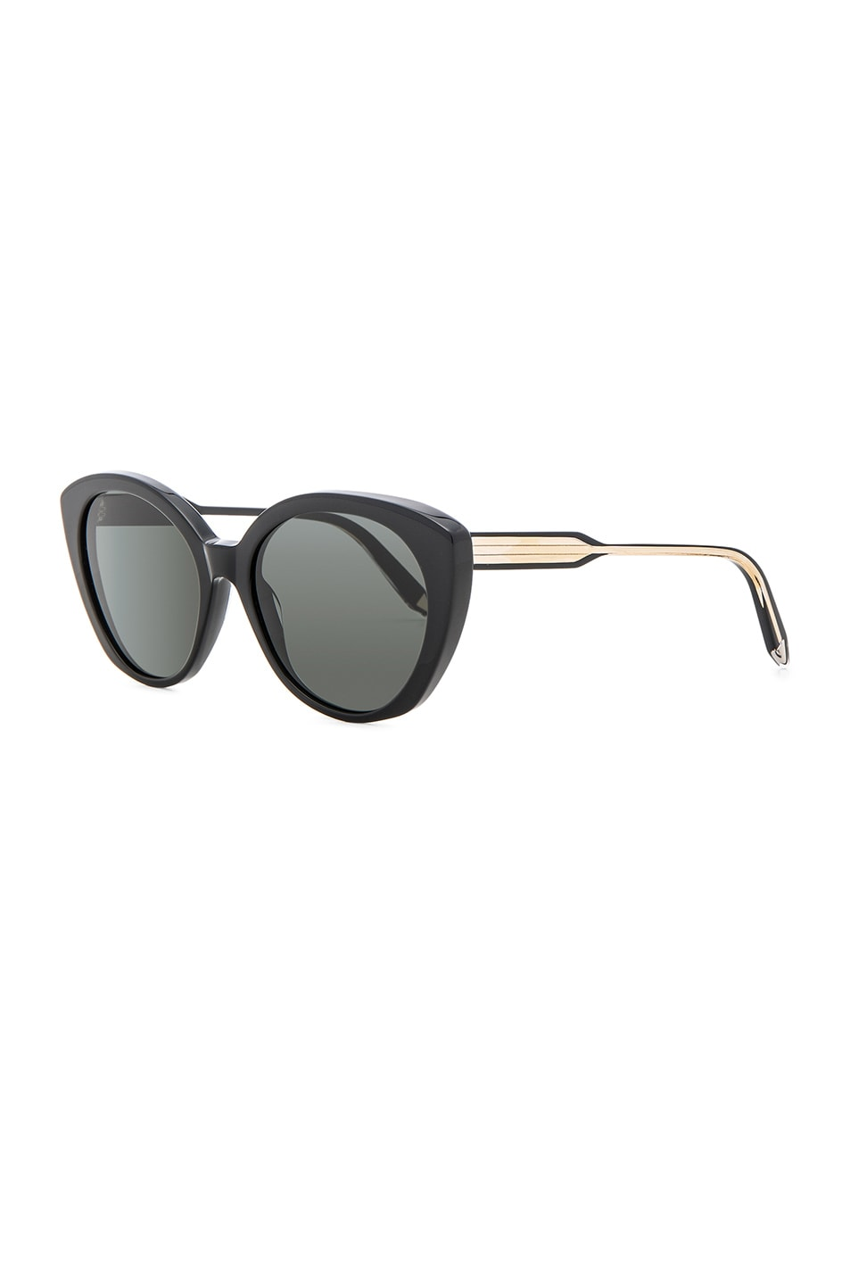Image 2 of Victoria Beckham Acetate Kitten in Black