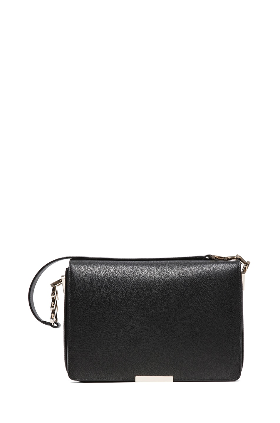 Image 1 of Victoria Beckham V Link Shoulder Bag in Black