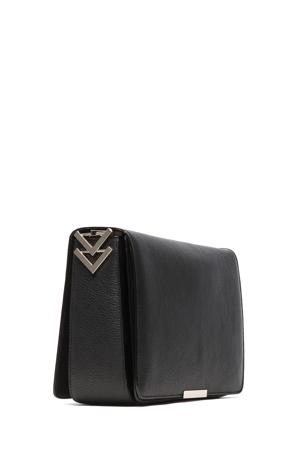 Image 3 of Victoria Beckham V Link Shoulder Bag in Black