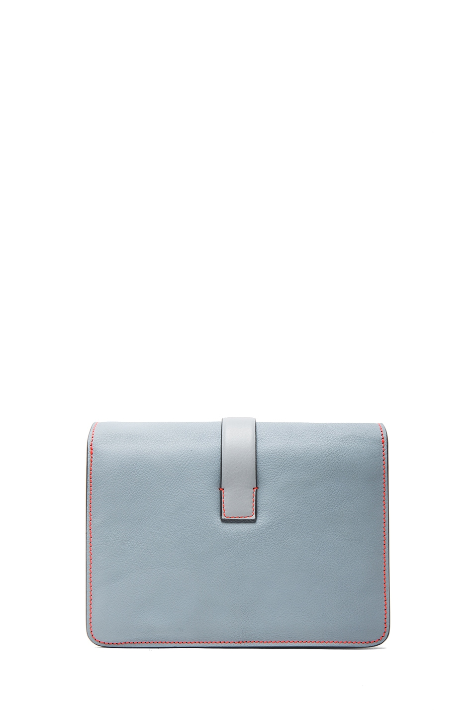 Image 2 of Victoria Beckham Mini Satchel in Rainy Day