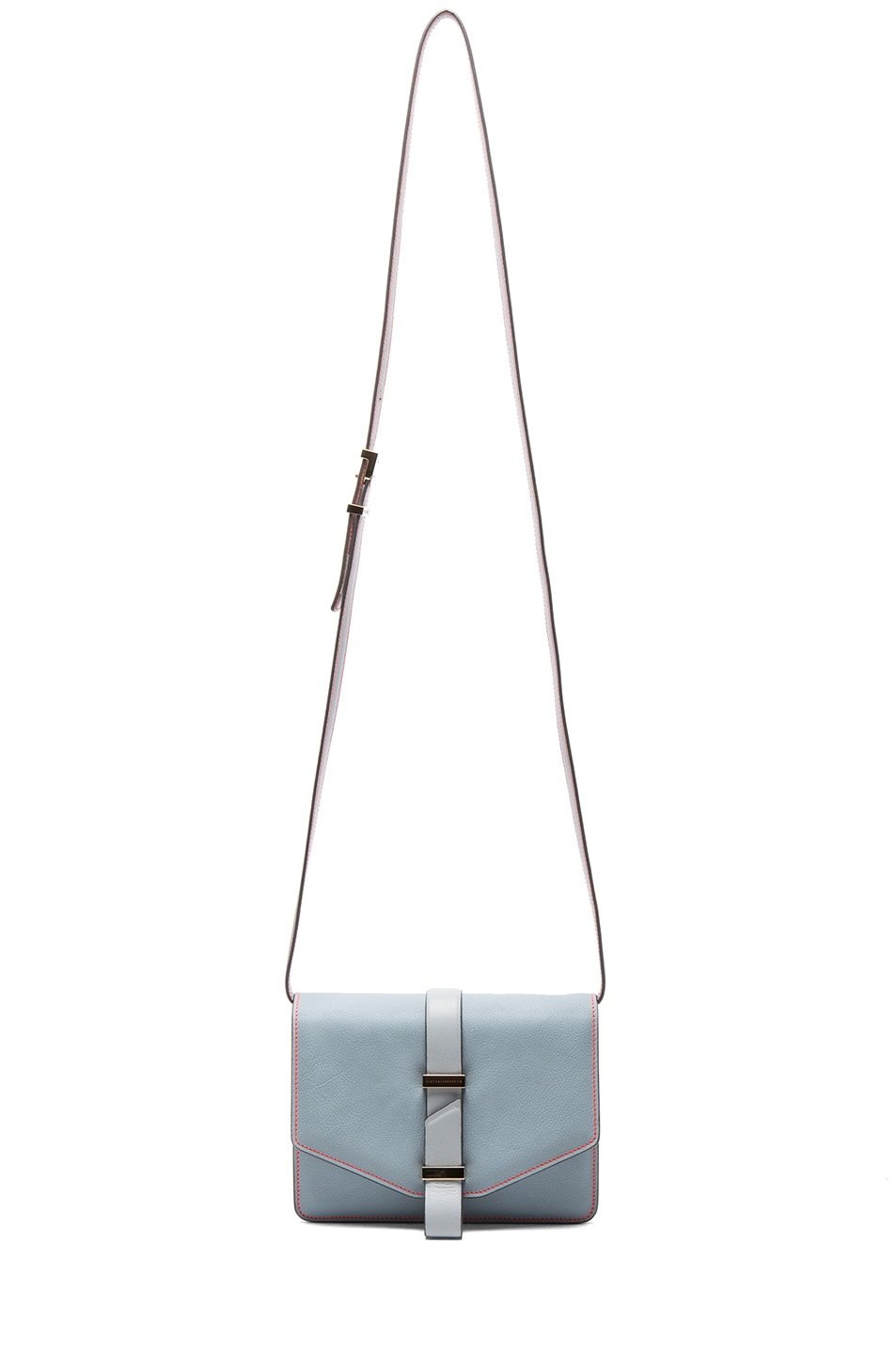 Image 5 of Victoria Beckham Mini Satchel in Rainy Day