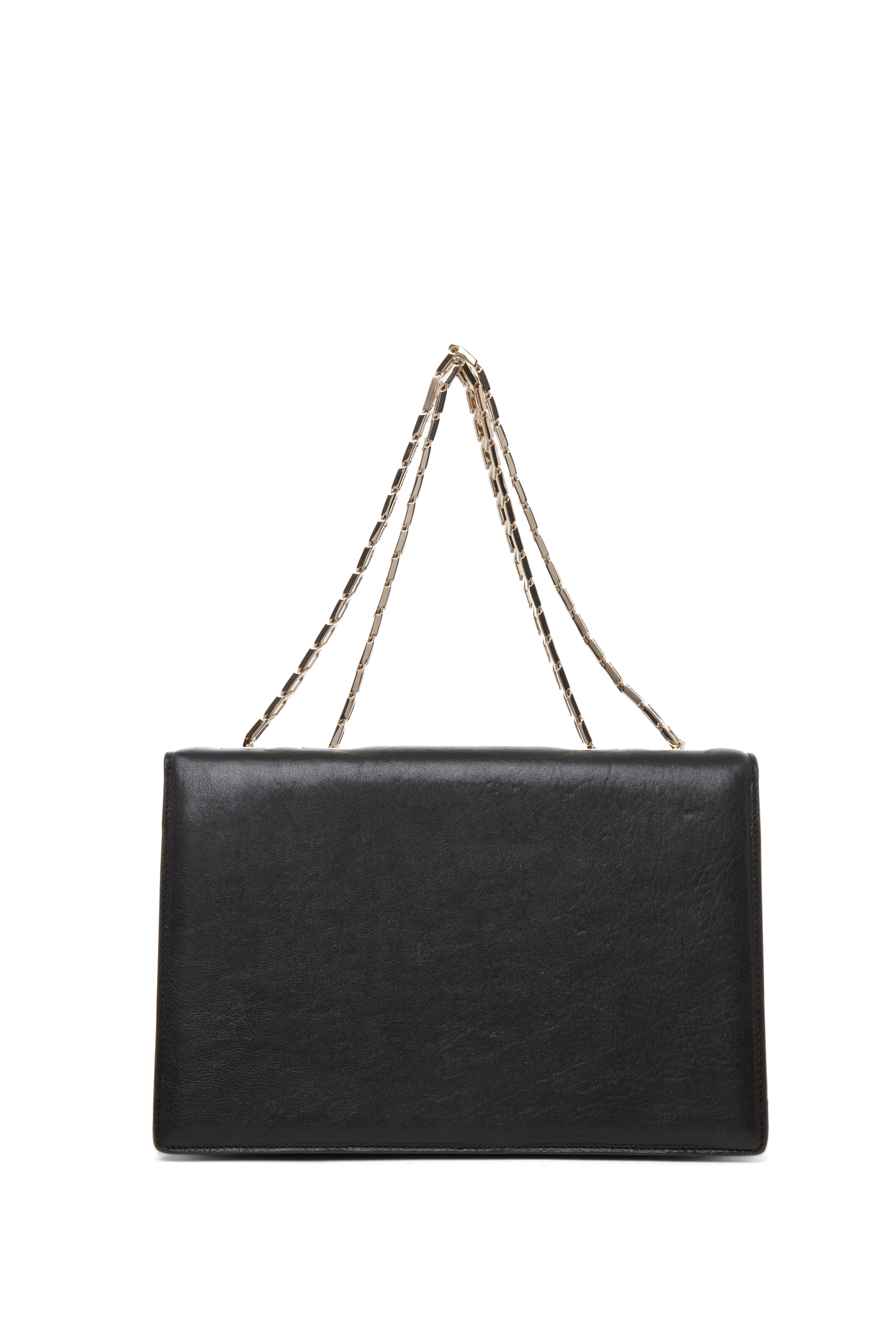 Image 2 of Victoria Beckham Hexagonal Chain Bag in Black
