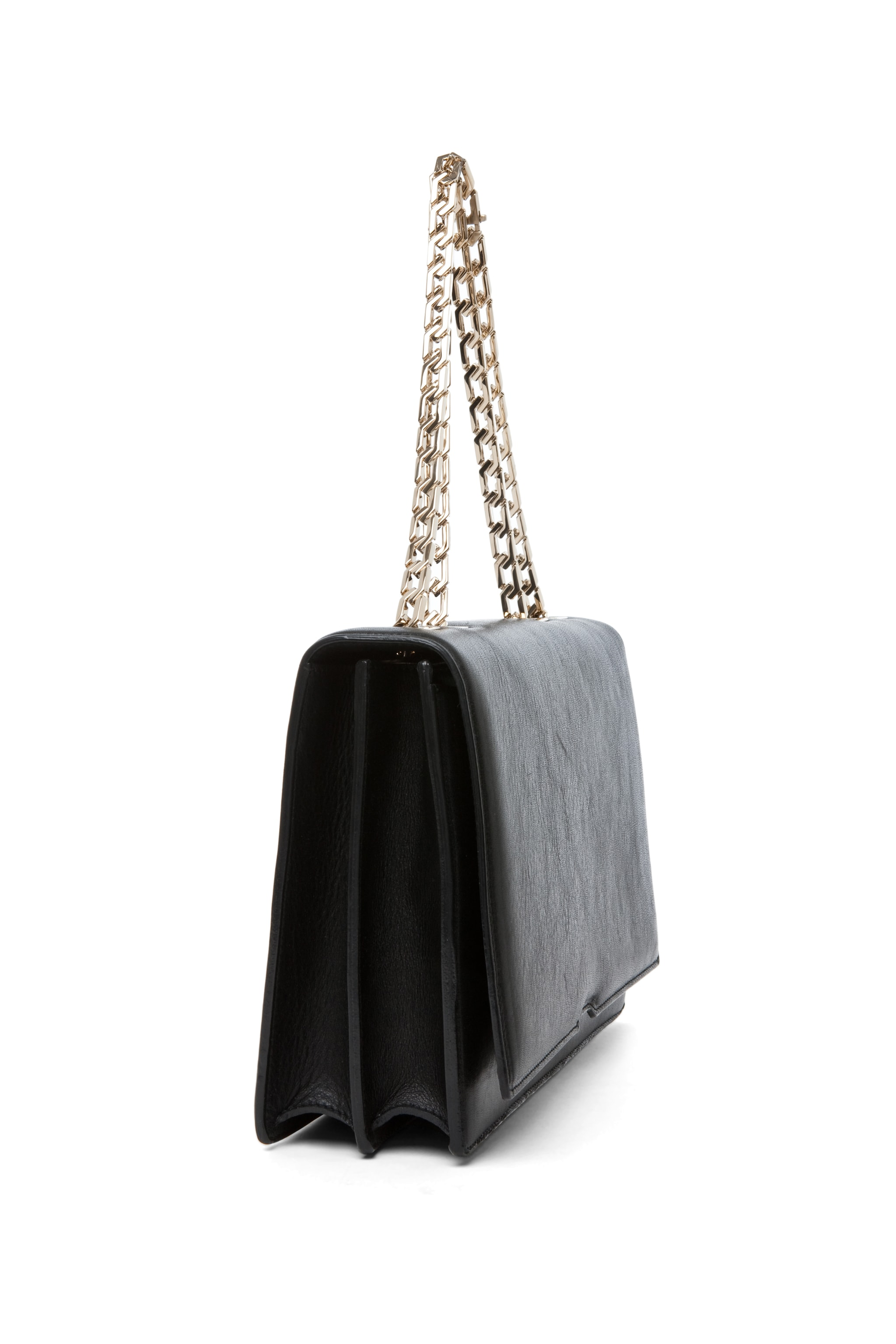 Image 3 of Victoria Beckham Hexagonal Chain Bag in Black