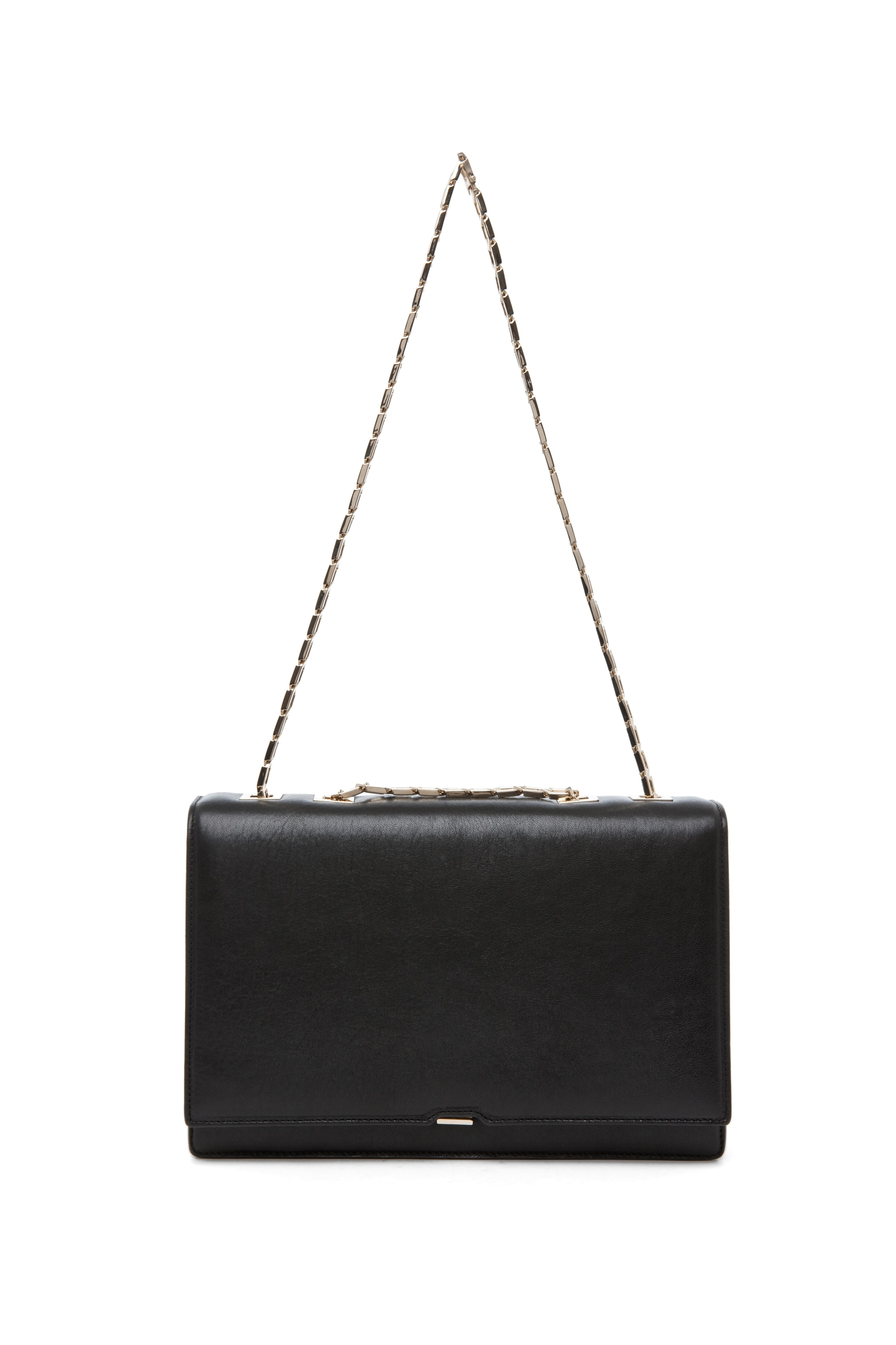 Image 5 of Victoria Beckham Hexagonal Chain Bag in Black