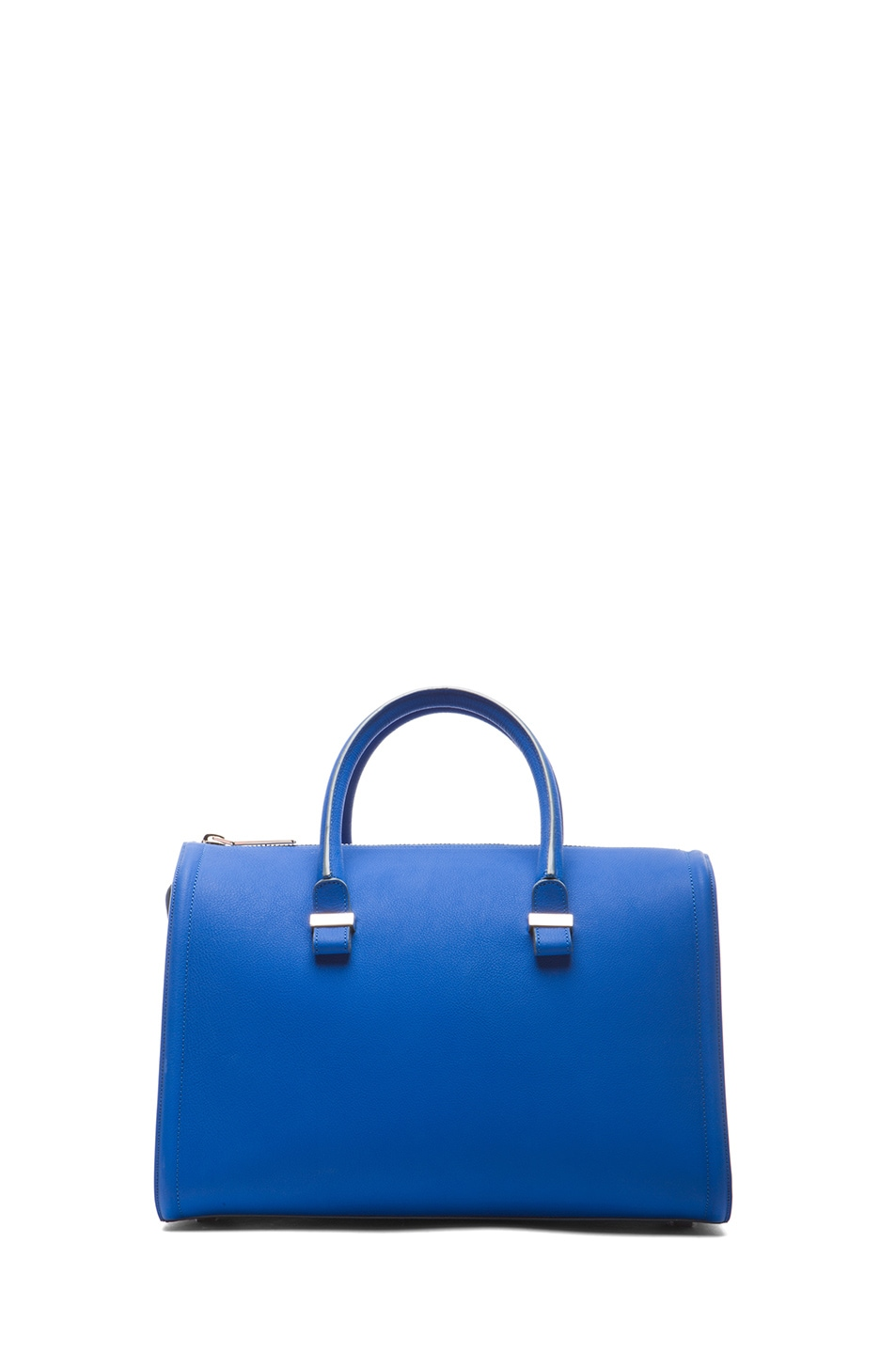 Image 1 of Victoria Beckham Mini Tote in New Blue