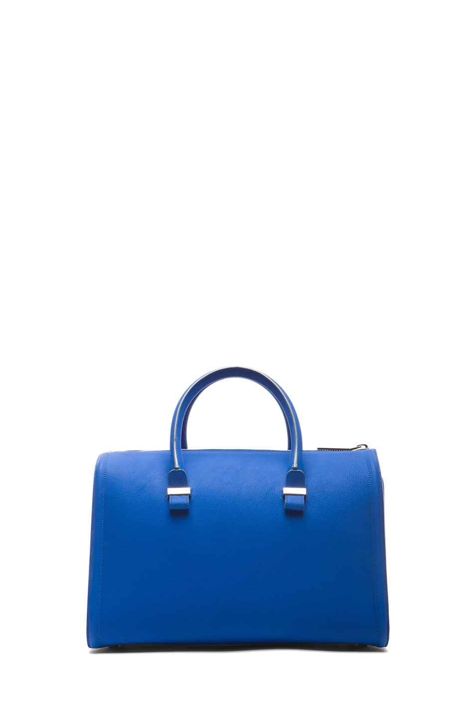 Image 2 of Victoria Beckham Mini Tote in New Blue