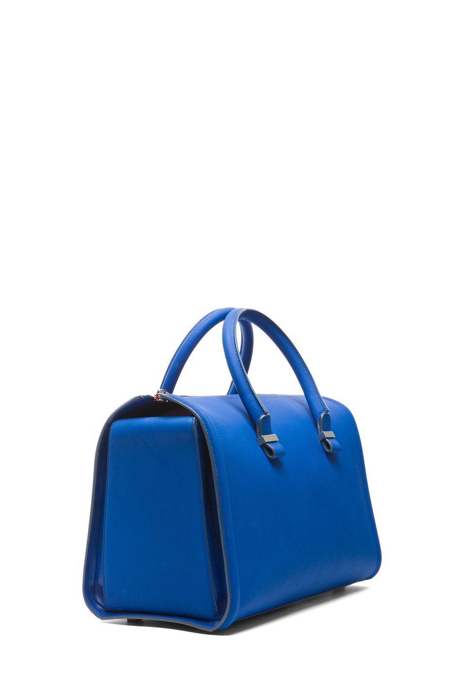 Image 3 of Victoria Beckham Mini Tote in New Blue