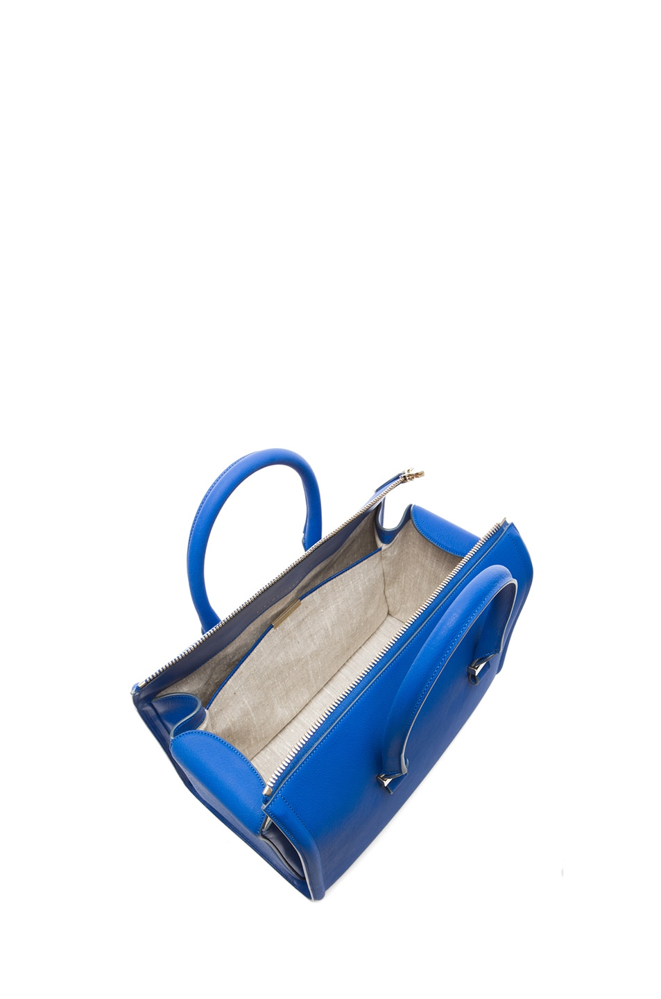 Image 4 of Victoria Beckham Mini Tote in New Blue