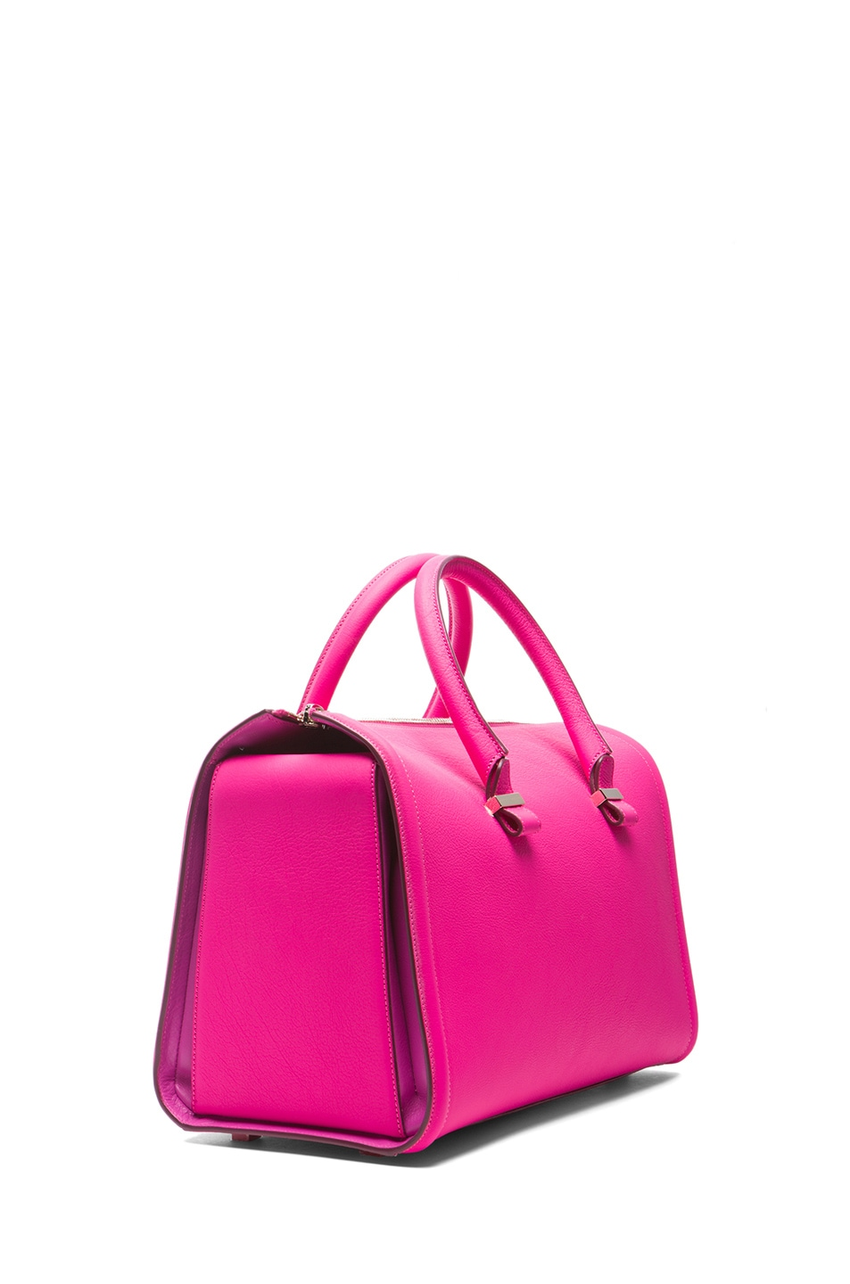 Image 3 of Victoria Beckham Mini Tote in Pink