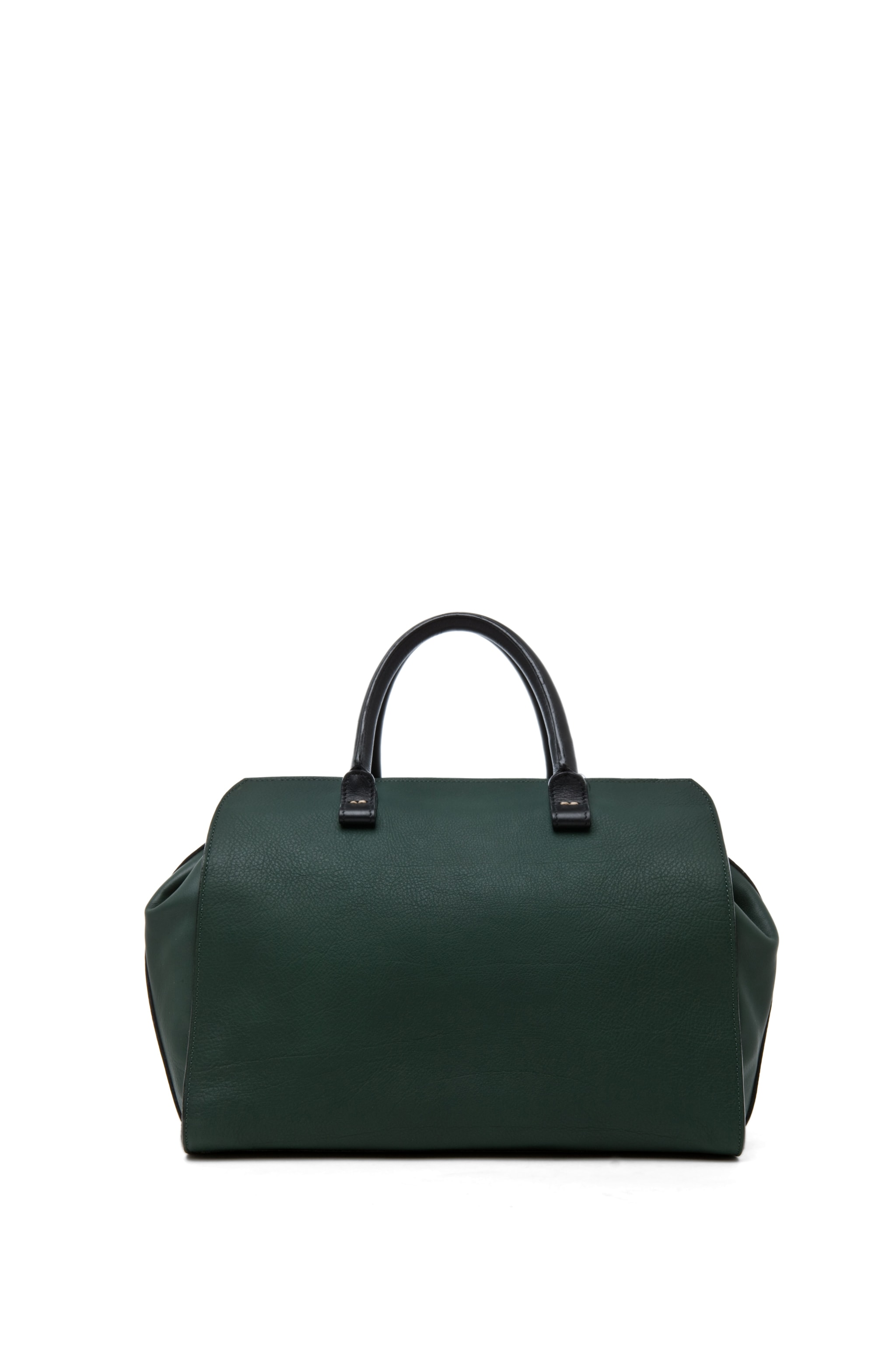 Image 2 of Victoria Beckham The Soft Victoria Bag in Forest Green