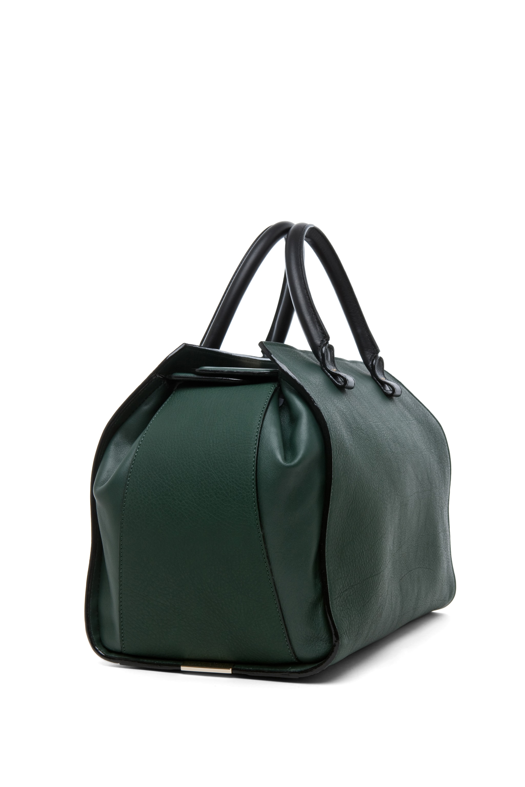 Image 3 of Victoria Beckham The Soft Victoria Bag in Forest Green