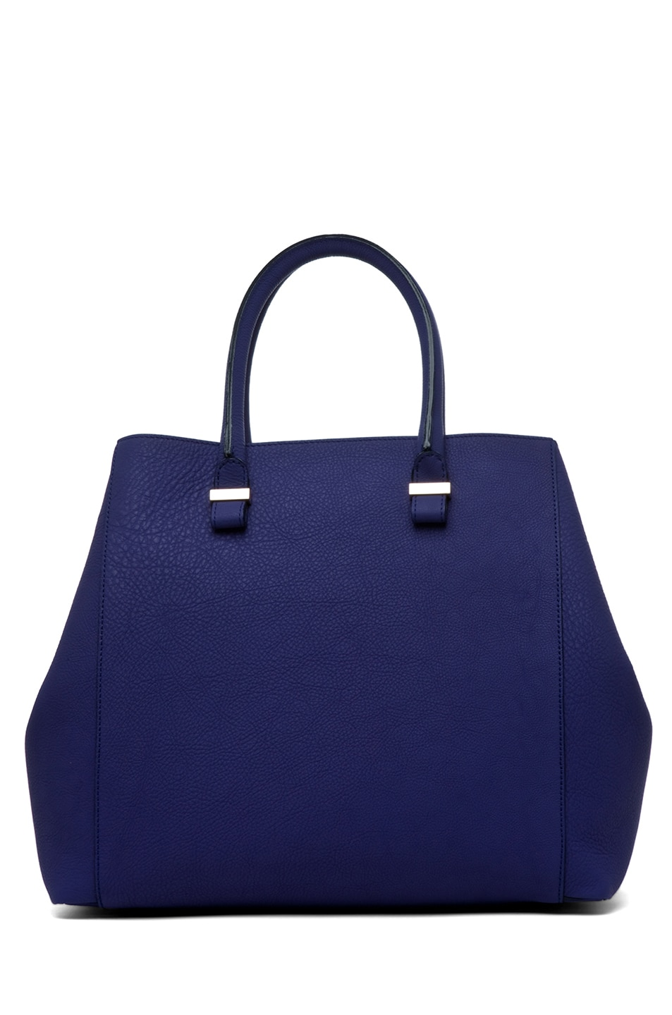 Image 1 of Victoria Beckham Georgia Tote in Purple & Powder