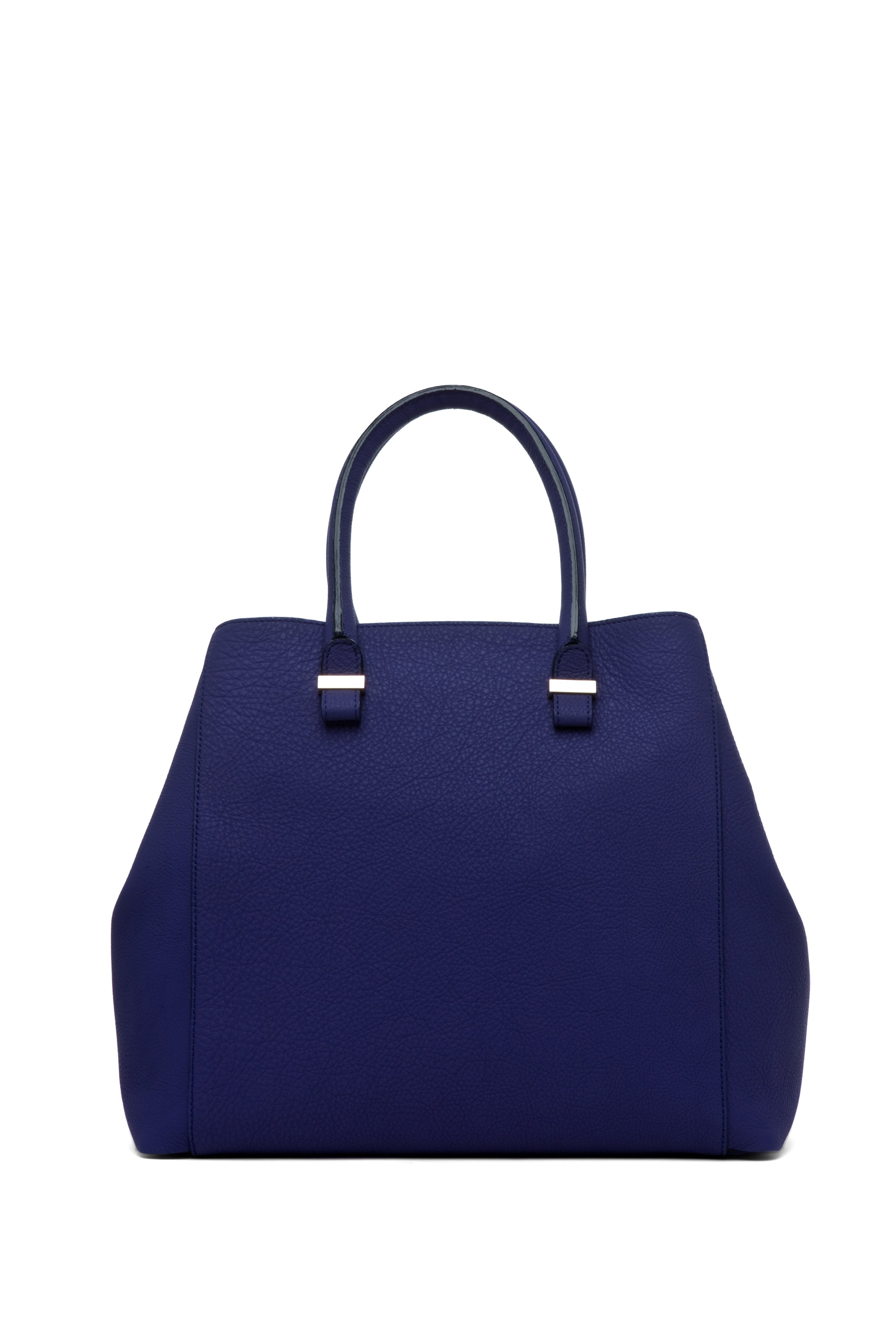 Image 2 of Victoria Beckham Georgia Tote in Purple & Powder