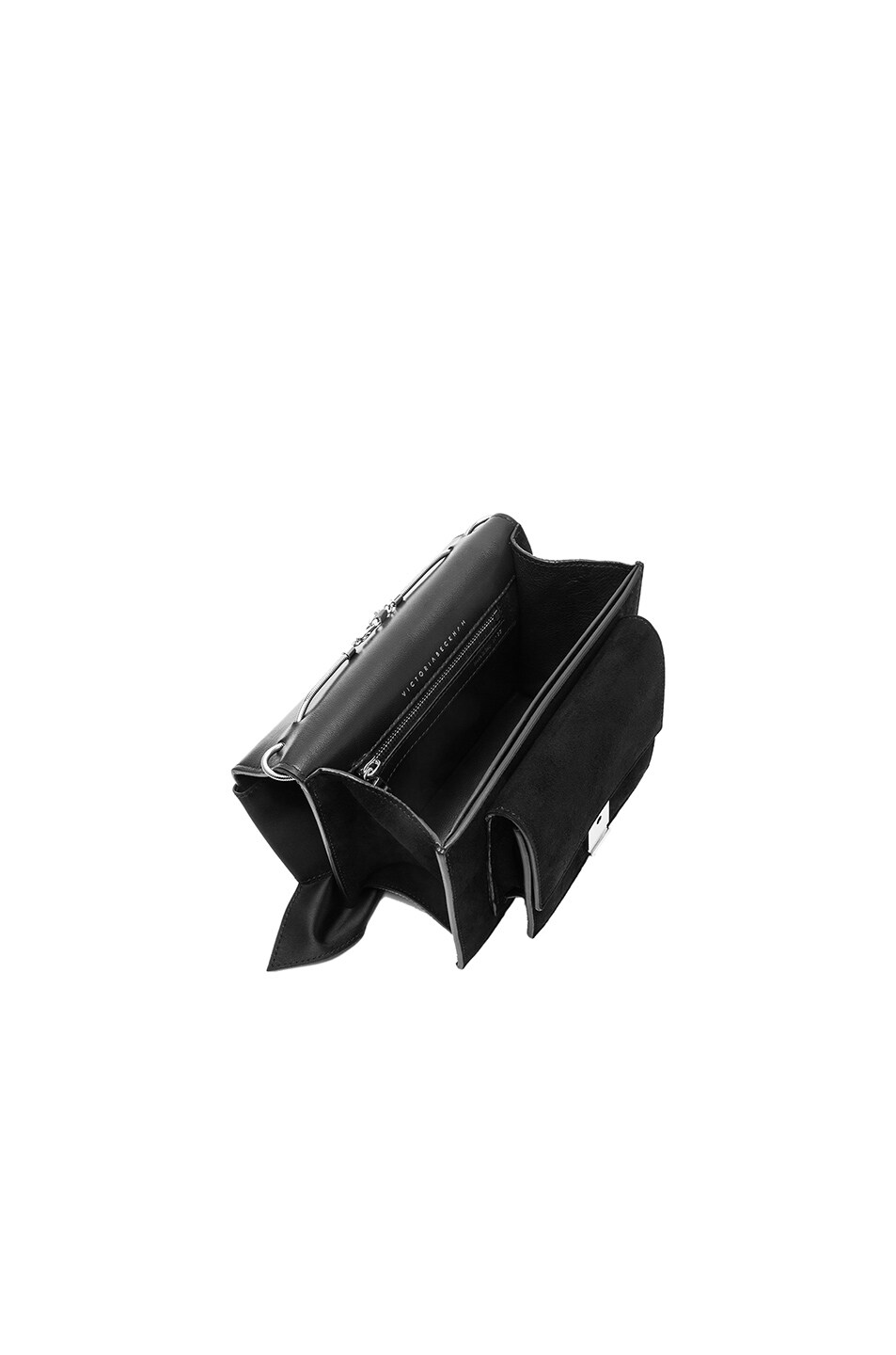 Image 5 of Victoria Beckham Mini Bow Clutch in Black