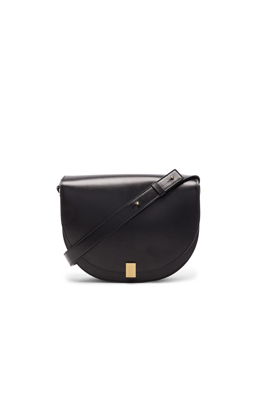 Image 1 of Victoria Beckham Half Moon Box Bag in Black