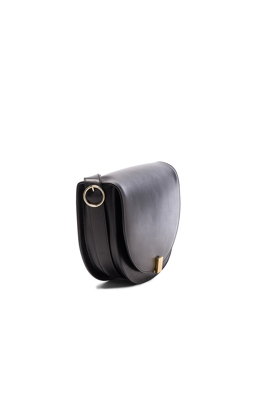 Image 3 of Victoria Beckham Half Moon Box Bag in Black