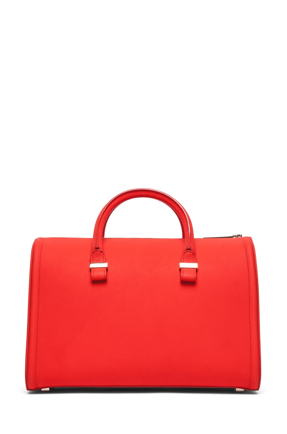 Image 2 of Victoria Beckham Mini Victoria Tote in Sunset
