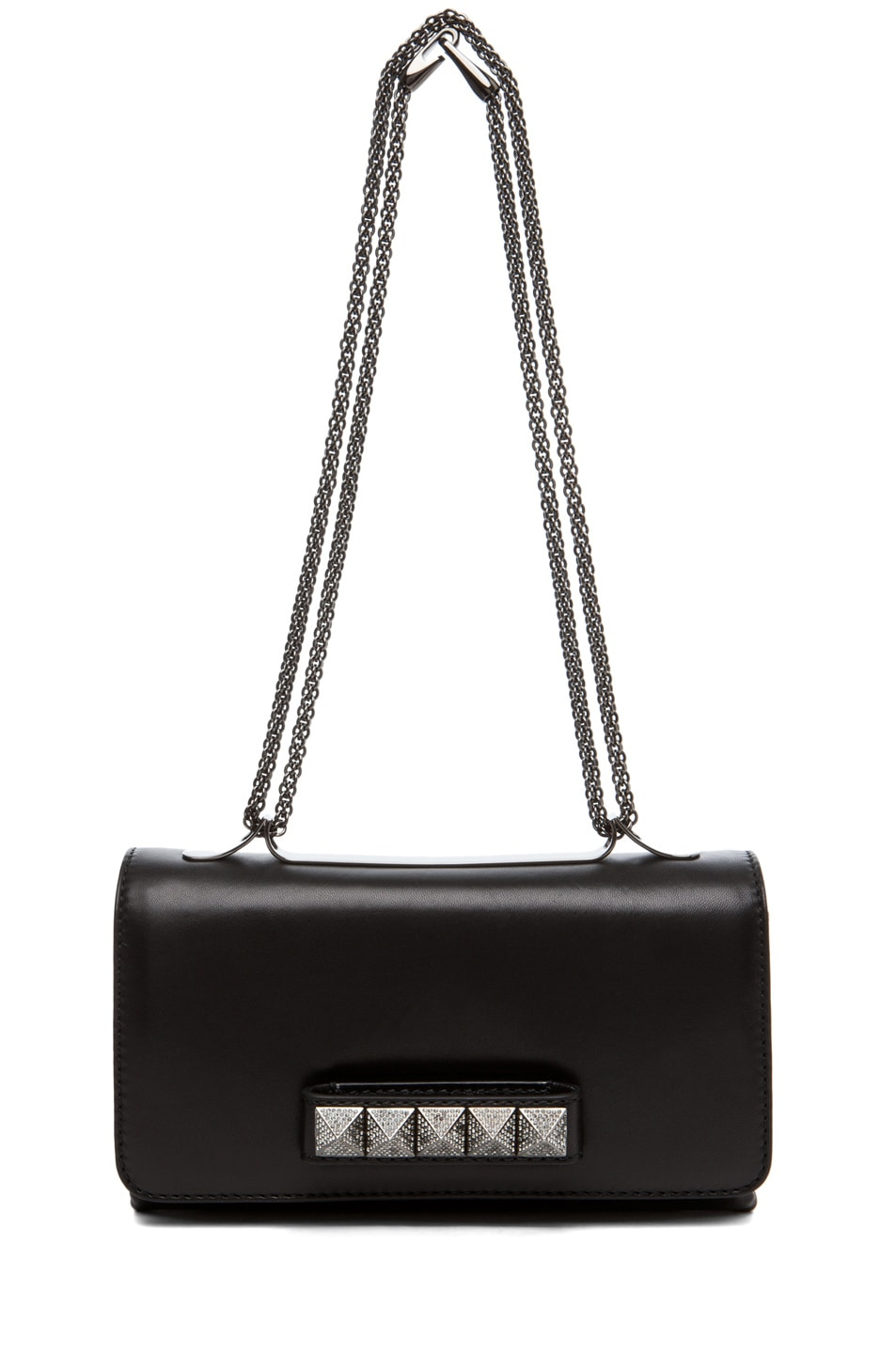 Image 5 of Valentino Va Va Voom Noir Small Flap Bag in Black