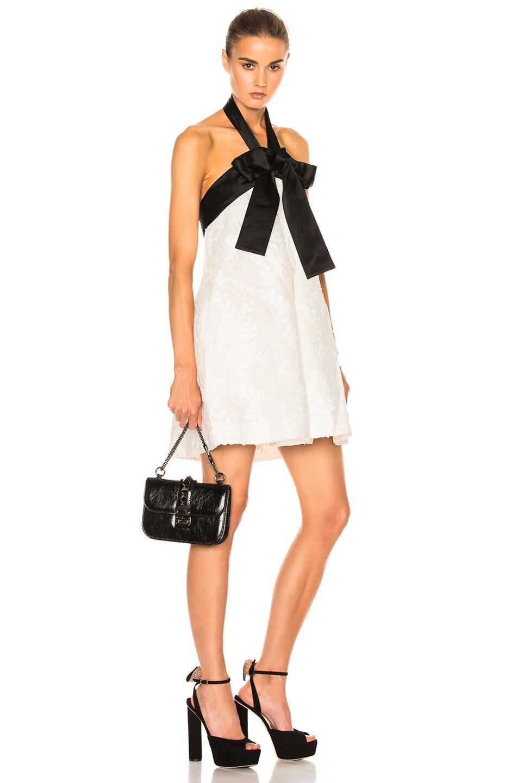 Image 2 of Valentino Noir Small Lock Shoulder Bag in Black