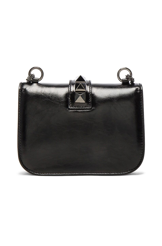 Image 3 of Valentino Noir Small Lock Shoulder Bag in Black