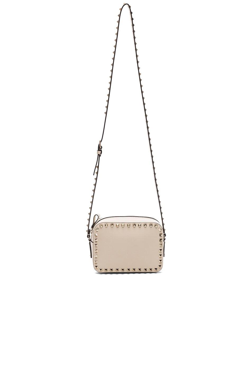 Image 5 of Valentino Rockstud Crossbody Bag in Light Ivory