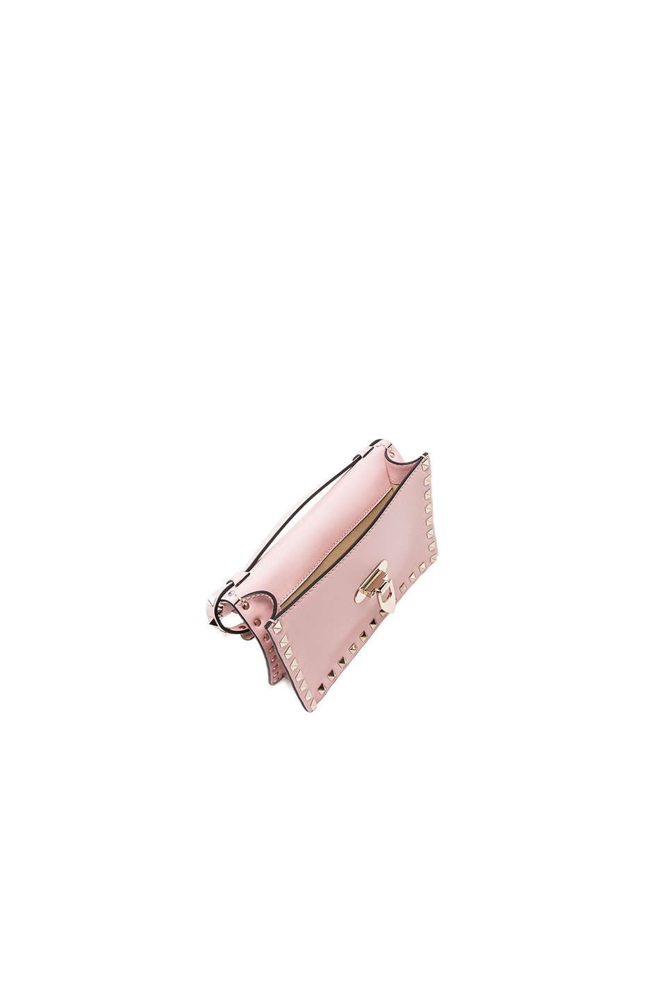 Image 4 of Valentino Rockstud Shoulder Bag in Water Rose