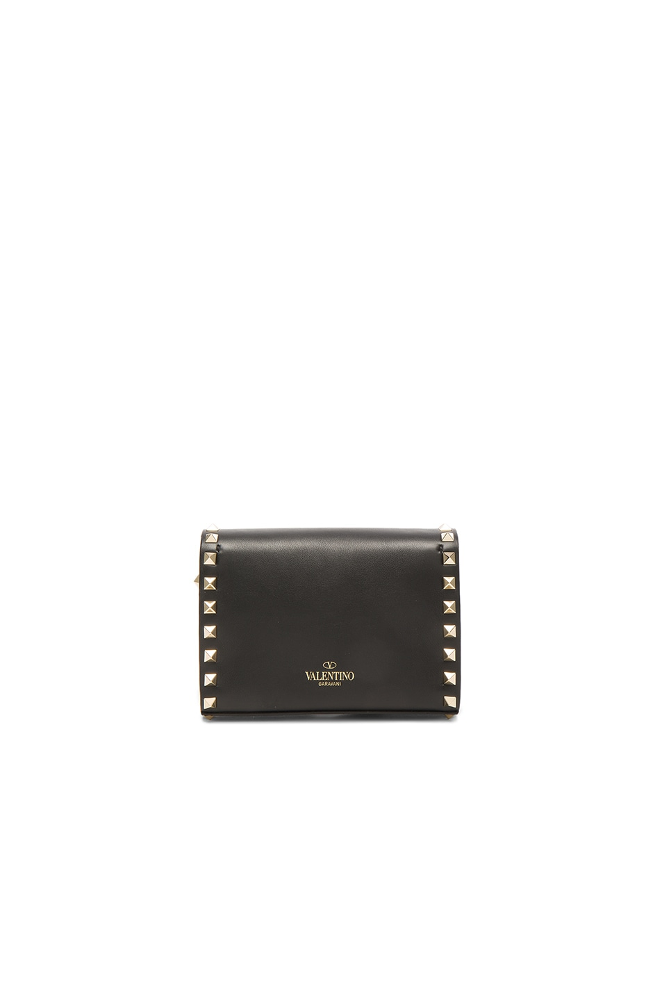 Image 2 of Valentino Small Rockstud Shoulder Bag in Black