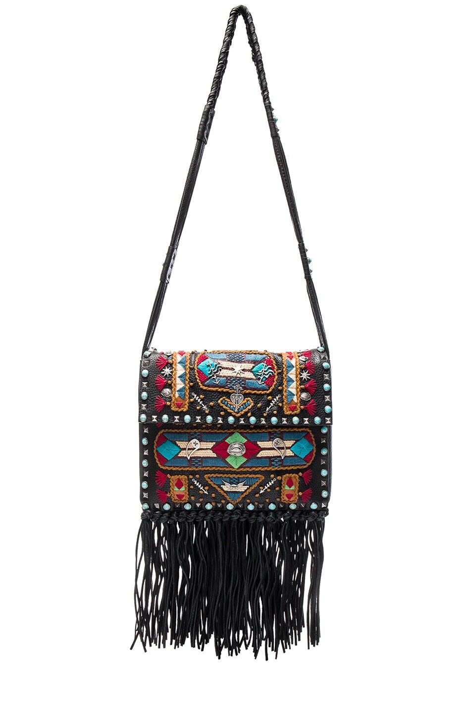 Image 1 of Valentino Santeria Fringe Shoulder Bag in Multi
