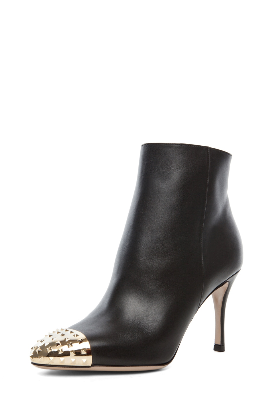 Image 2 of Valentino Extreme Tip Boot T.85 in Black