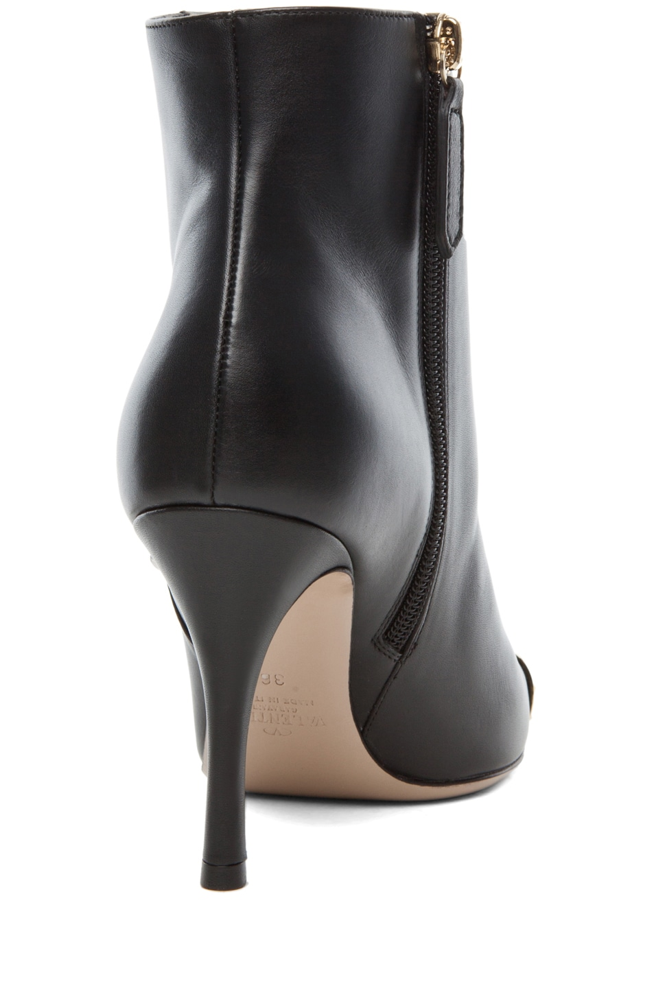 Image 3 of Valentino Extreme Tip Boot T.85 in Black