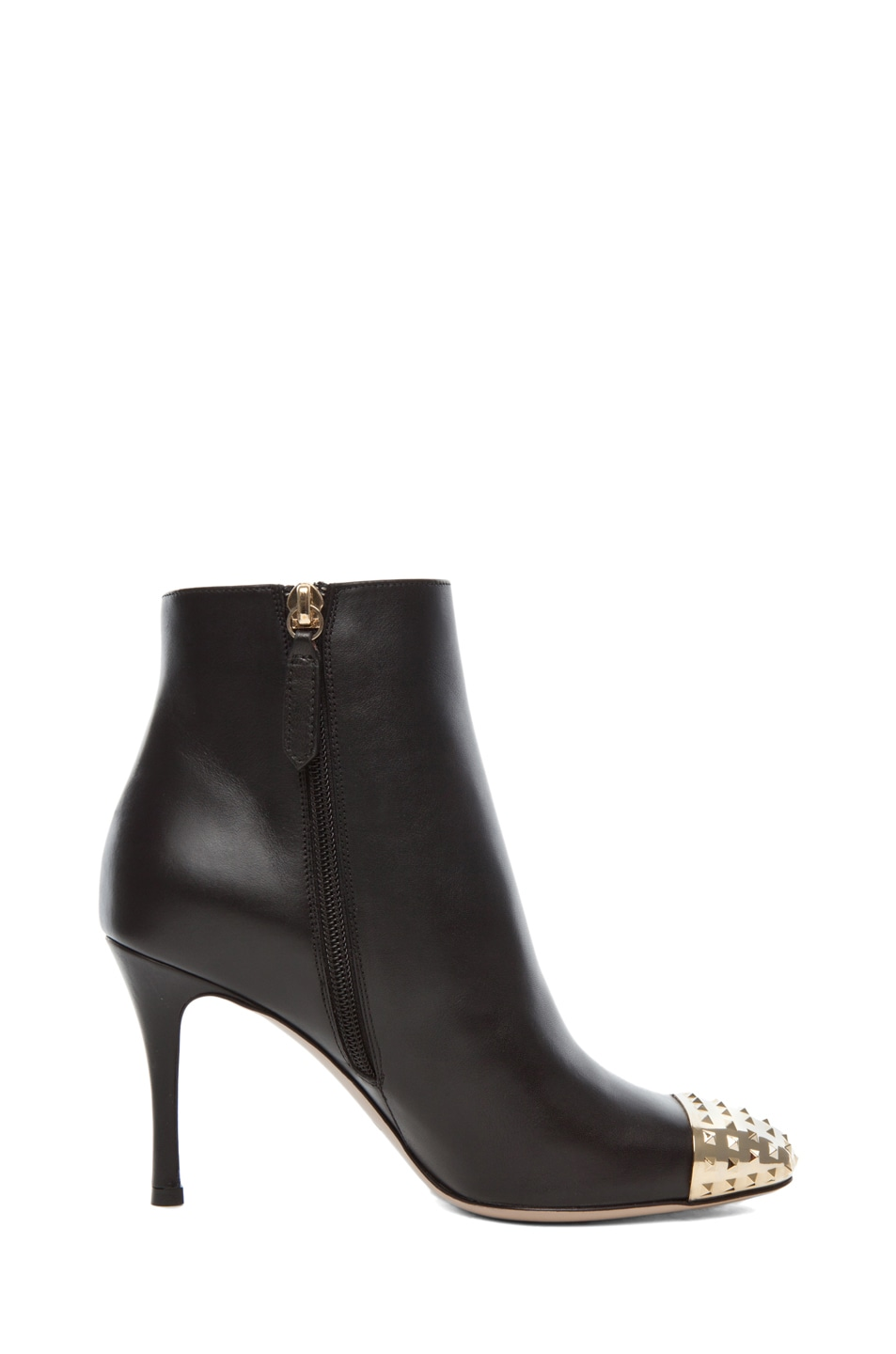 Image 5 of Valentino Extreme Tip Boot T.85 in Black