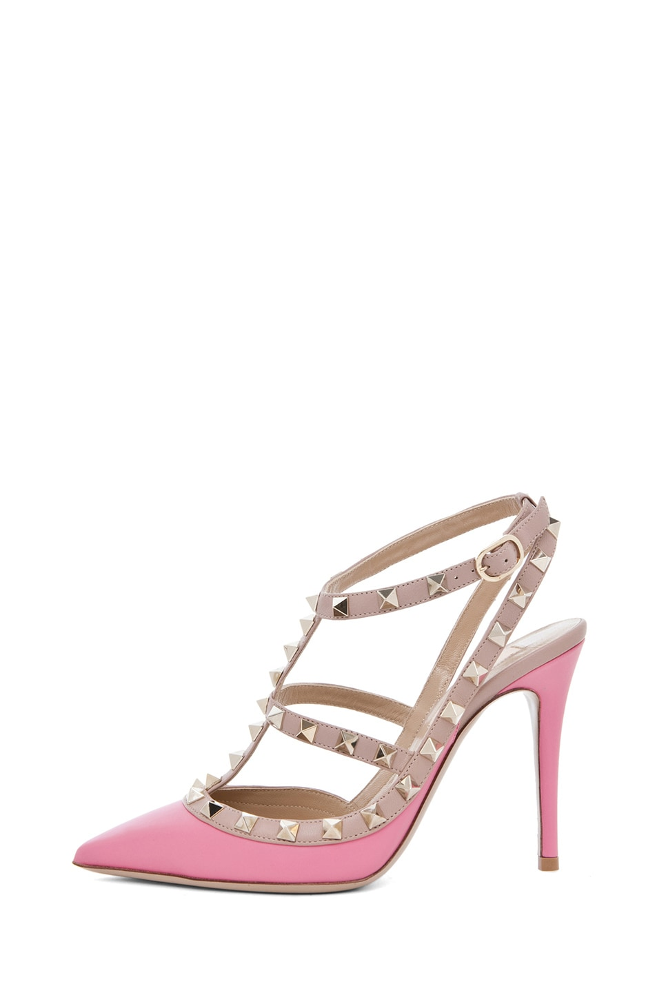 Image 1 of Valentino Rockstud Sling Back T.100 in Passion