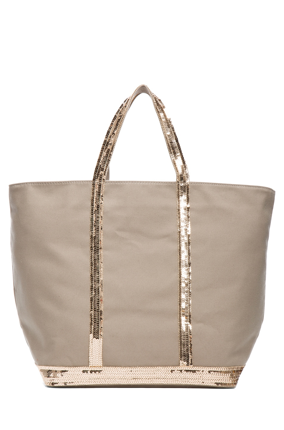 Image 1 of Vanessa Bruno Toile De Coton Tote in Savane