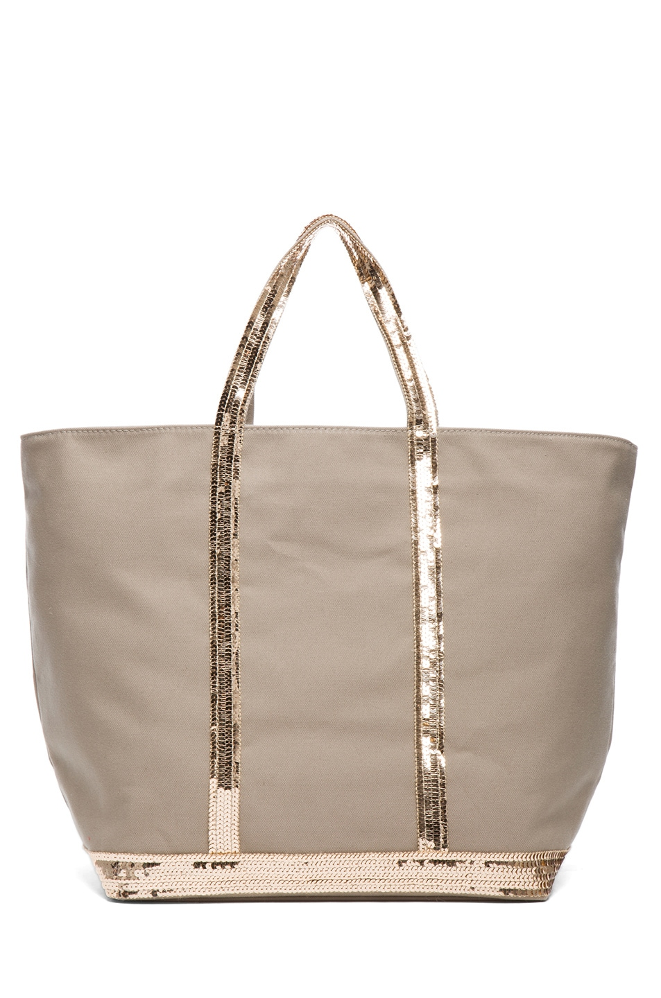 Image 2 of Vanessa Bruno Toile De Coton Tote in Savane