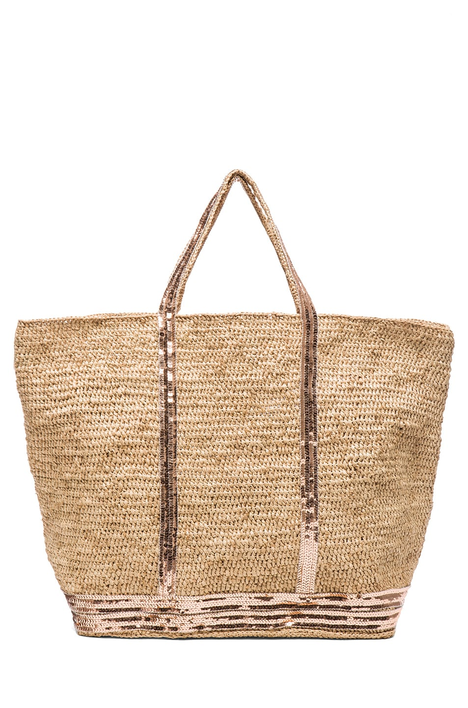 Image 2 of Vanessa Bruno Raffia Tote in Naturel