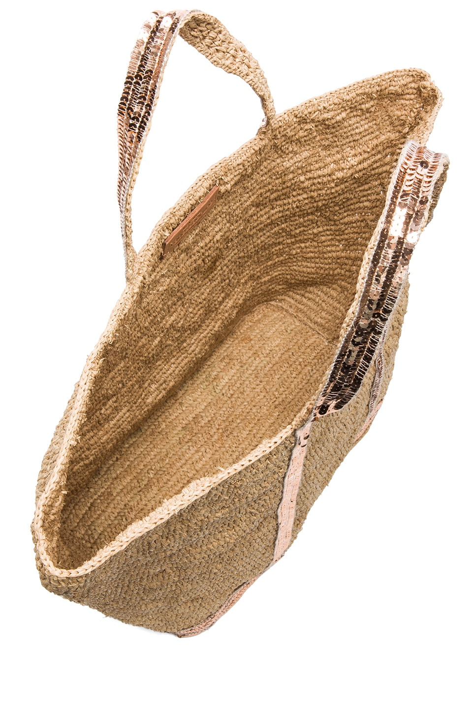 Image 4 of Vanessa Bruno Raffia Tote in Naturel
