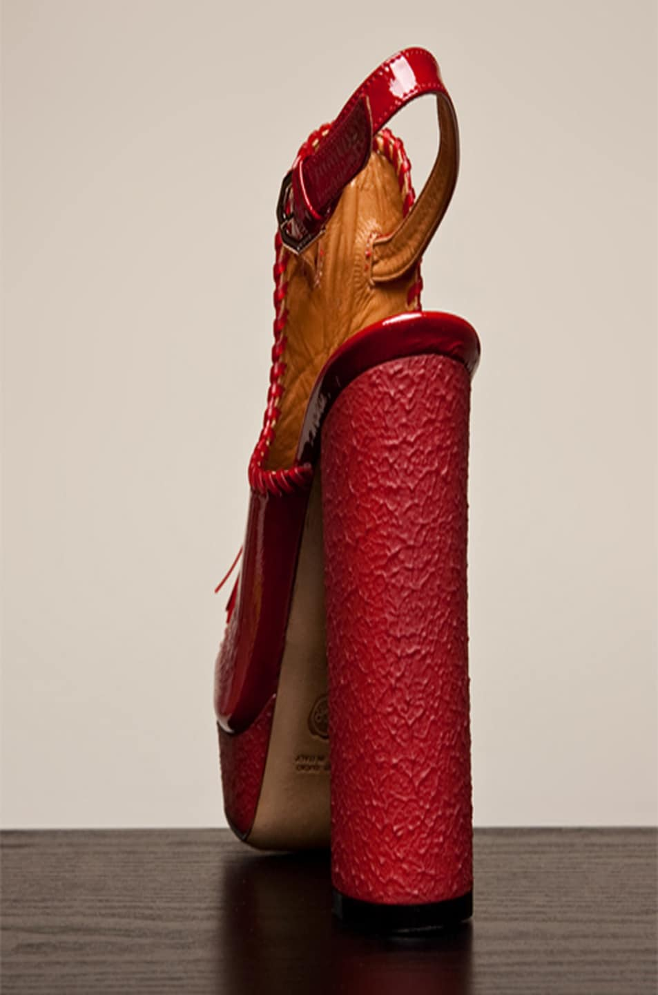 Image 4 of Viktor & Rolf Tassel Platform in Red