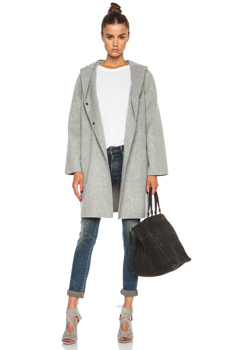 Collection Wool Blend Coat Pictures - Reikian