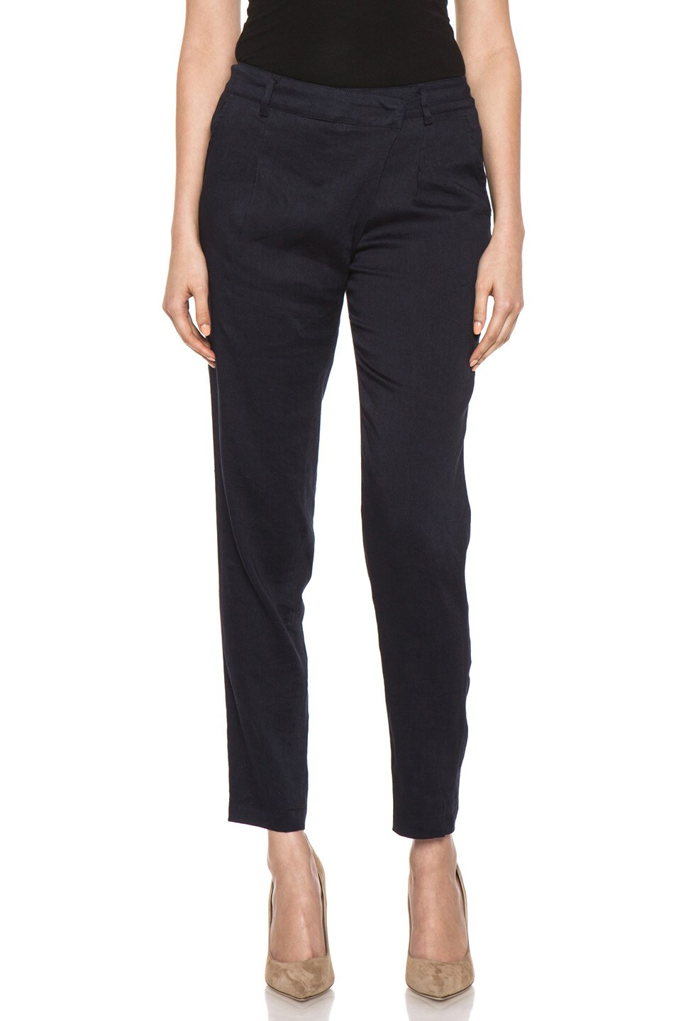 Image 1 of Vince Asymmetric Pant in Coastal
