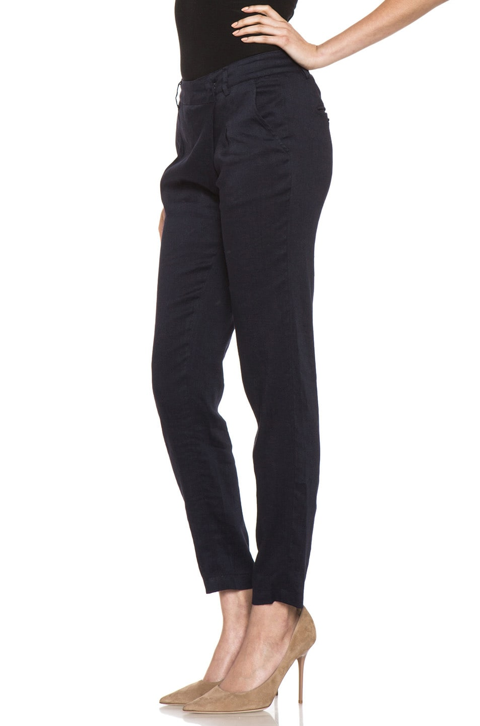 Image 2 of Vince Asymmetric Pant in Coastal