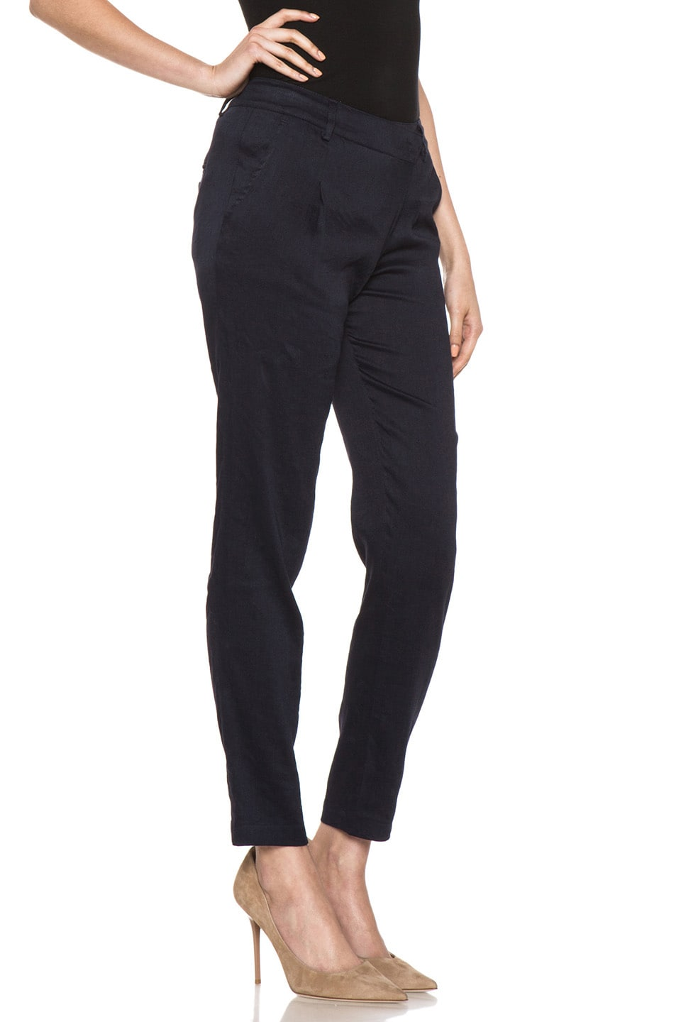 Image 3 of Vince Asymmetric Pant in Coastal