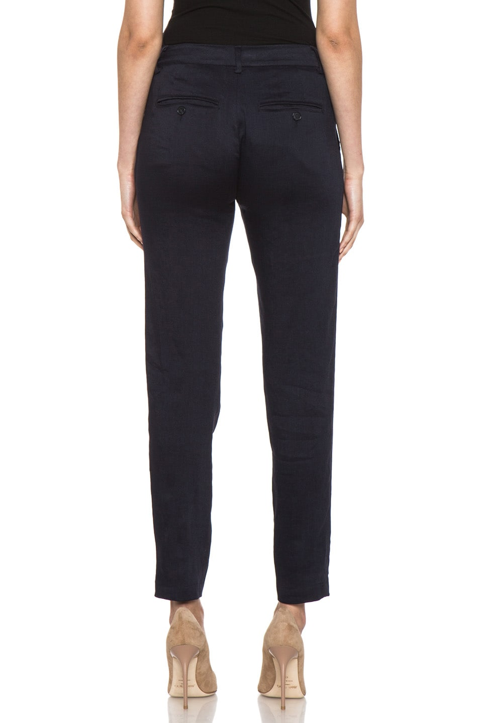 Image 4 of Vince Asymmetric Pant in Coastal