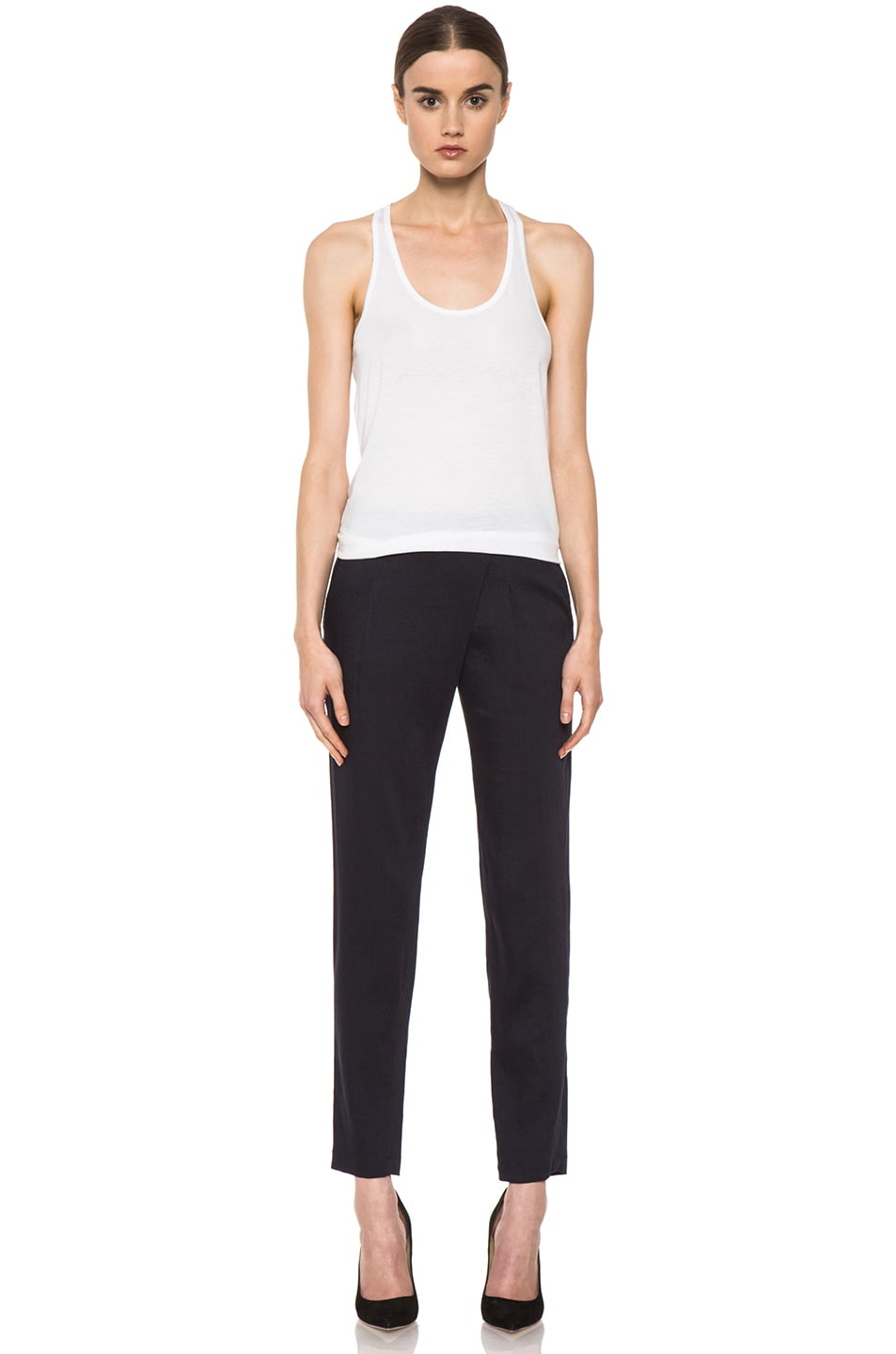 Image 5 of Vince Asymmetric Pant in Coastal