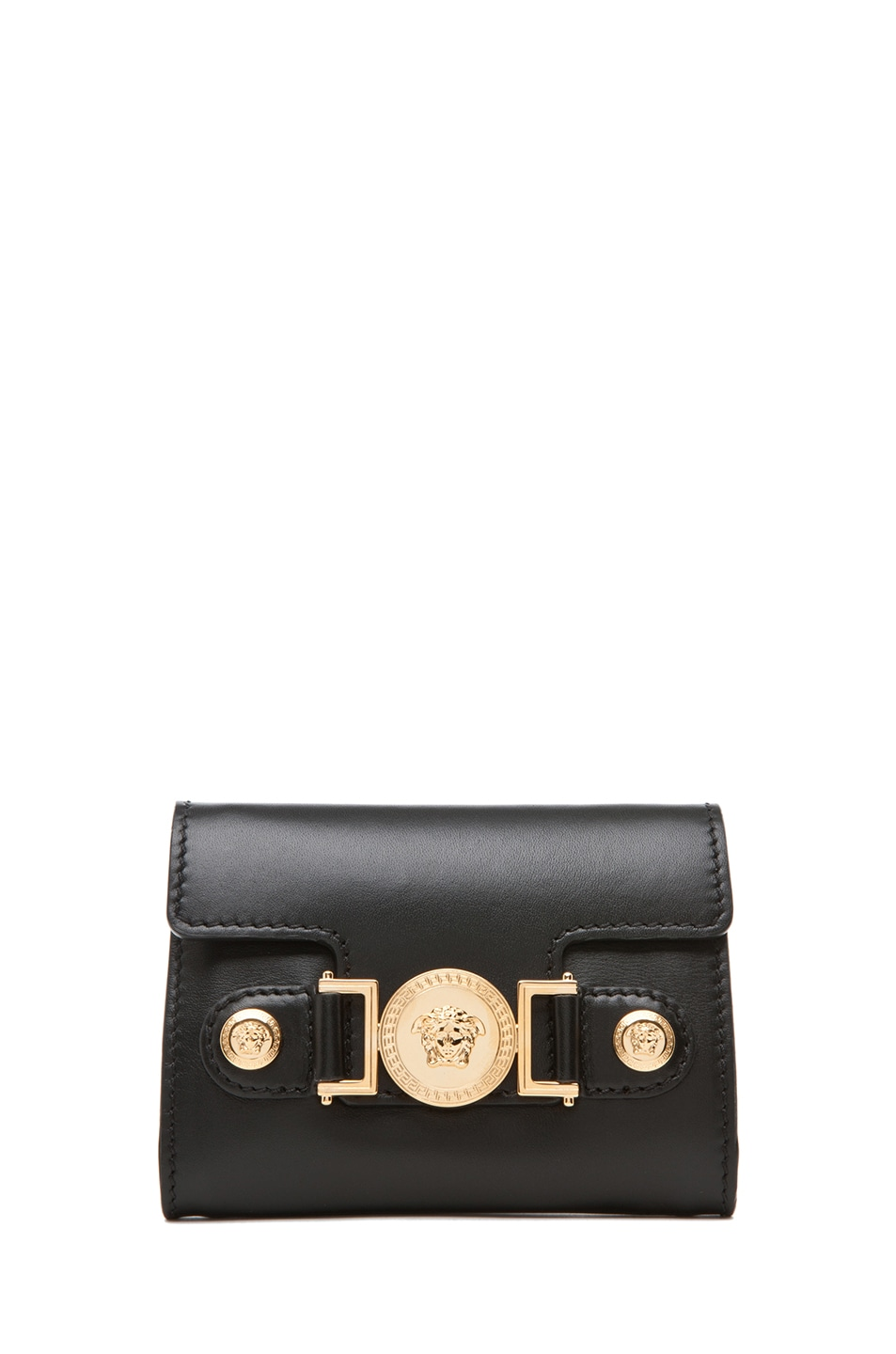 Image 5 of VERSACE Belt with Pouch in Black